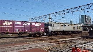 2019.05.25 貨物列車(4090列車)秋田駅到着