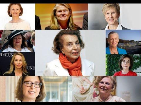Top 10 Richest Women in The World 2017 - Female Billionaires