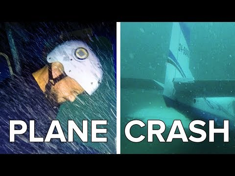 We Tried To Survive A Sinking Plane Crash