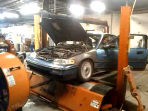 Alex's Crx 1st Dyno Run