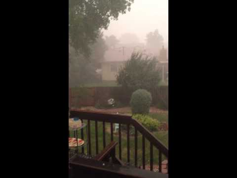 Arvada storm July 7, 2014
