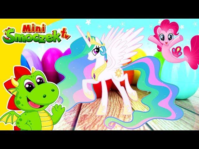 My Little Pony Księżniczka Celestia Szuka Kucyków! Jajka Niespodzianki Zabawki Bajki Dla Dzieci
