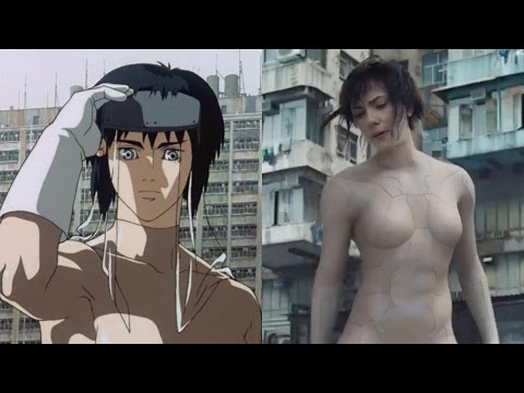 трейлер 2017 - Ghost in the Shell (2017) Trailer Remade From Anime Scenes