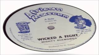 Mighty Diamonds-Wicked A Fight (African Museum All Stars Vol.1) Gregory Isaacs