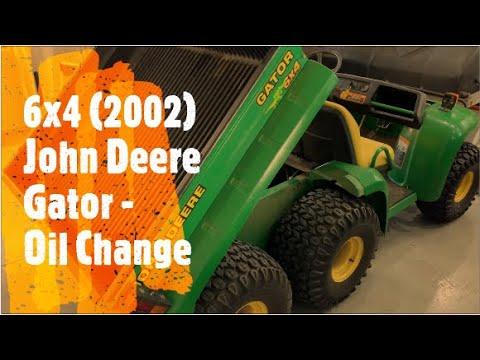 Download 6x4 John Deere Gator (2002) - Oil Change