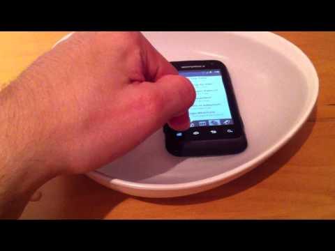 Motorola Defy Mini - Test d'étanchéité