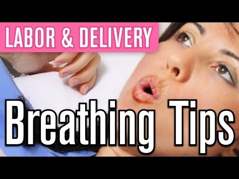 How to Breathe during Labor | Pregnancy