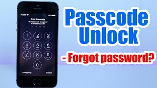 How to unlock ios 8 iphone forgot your passcode
