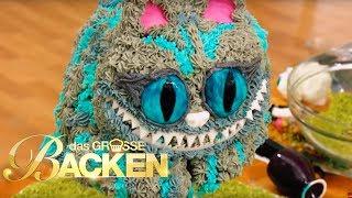 Gravity Cakes Schwebekuchen - Teil 2 | Das große Backen 2017 | SAT.1 TV