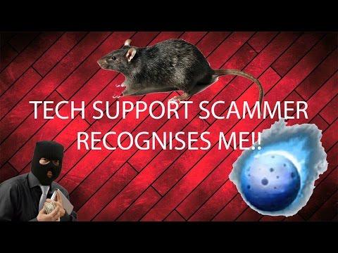 Tech Support Scammer vs Darkcomet #2 - Scammer Recognises Me