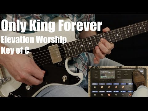 Only King Forever | Lead Guitar (Line 6 Helix)