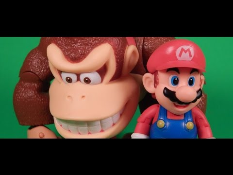 World of Nintendo Mario and Donkey Kong Figure Review