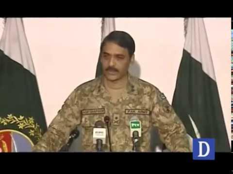 DG ISPR Major General Asif Ghafoor's media talk
