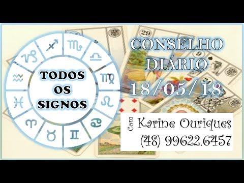 TODOS OS SIGNOS 18/05 - Diário com Karine Ouriques