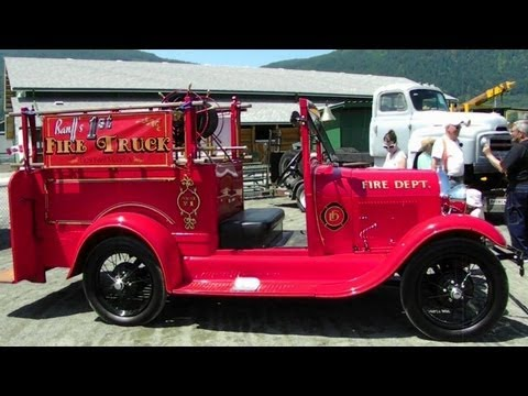 1929 ford model a fire truck antique truck show duncan bc 2012