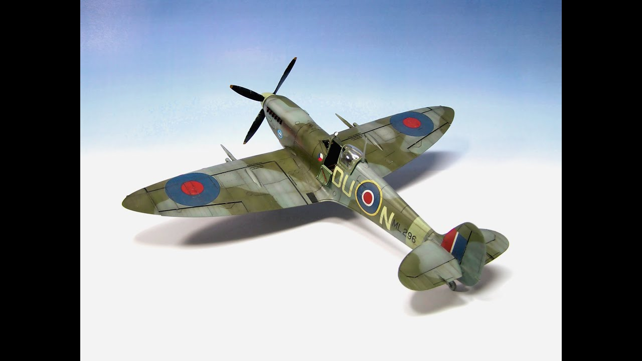 Supermarine Spitfire Mk Ixc Eduard 1 48 Ww2 Aircraft Model Part 2 Youtube