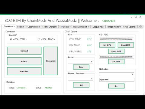 → Massive BO2 RTM Tool By ChainMods And WazzaModz ←