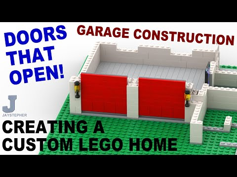 Tutorial Creating A Custom Lego Home Garage