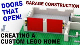 Tutorial - Creating A Custom Lego Home - Garage Construction [cc]