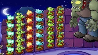 Plants vs Zombies Hack - All Pea vs Dr. Zomboss Fight!