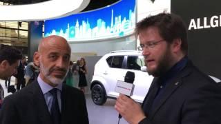Suzuki Ignis e SCross MY 2017 - Intervista a Massimo Nalli al Salone di Parigi 2016