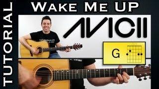 Avicii Como Tocar Wake Me Up de Avicii GUITARRA tutorial guitar TOC...