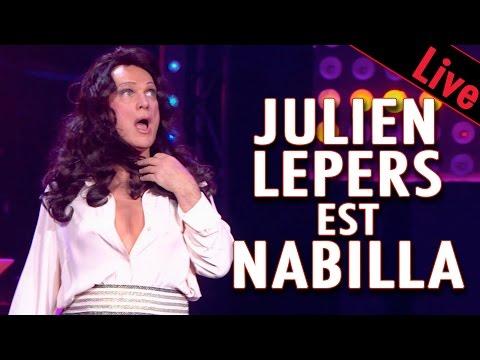 Julien Lepers est Nabilla pour Ze Fiesta de Patrick Sébastien