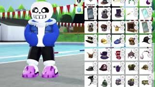 How to make Last Breath Sans(all phases) in Robloxian High School