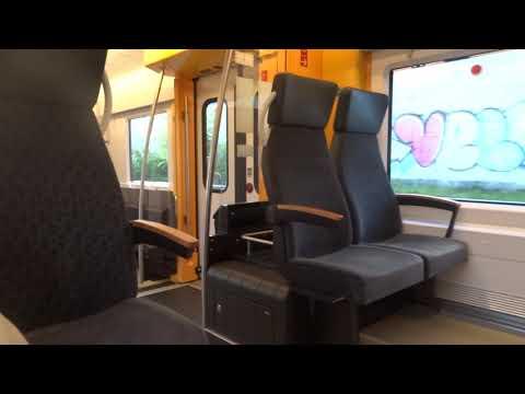 Fahrt In Der RB 71 Richtung Trier Hbf Im Neuen Alstom Coradia Continental 1440 001