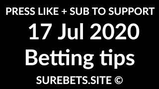 Football Betting Tips Today   17 July 2020   Premier League, Segunda, Serie B Predictions