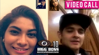 Rohan Mehra & Lopamudra Raut's CUTE VIDEO Call | Bigg Boss 10