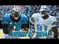 Madden 15 Panthers Connected Franchise - Week 2 vs Lions (Season 1)