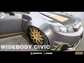 Honda Civic FB 9th Gen Widebody Modified - Race Day Thailand 2017