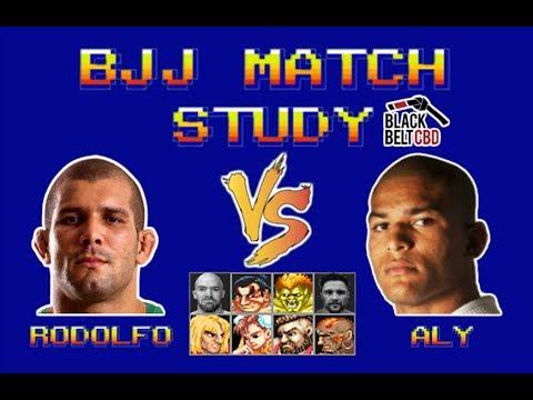 BJJ Match Study: Rodolfo Vieira Vs Mahamed Aly (Black Belt CBD Invitational)