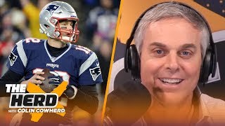 Colin Cowherd reacts to Tom Brady's interview with Howard Stern | NFL | THE HERD