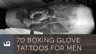 70 Boxing Glove Tattoos For Men