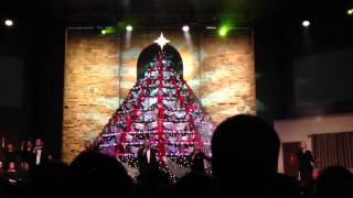Living Christmas Tree Eastside Baptist - Closing Song
