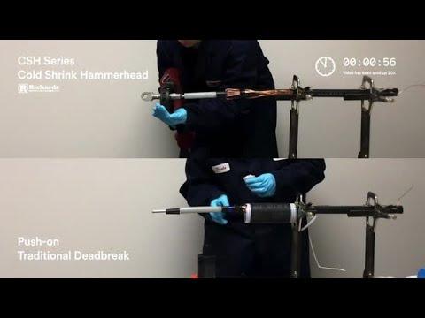 Cold Shrink Hammerhead vs Push-on Traditional Deadbreak