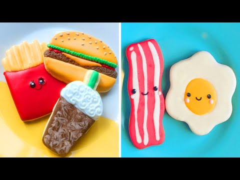 Cute Cookies Tasty   Most Satisfying Cookies Decorating Tutorials   So Yummy Cookies Recipes