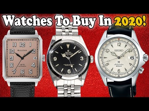 Watches To Buy In 2020!  (And Every Watch I Got In 2019!)