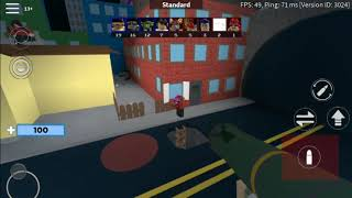 Trying to be good at Roblox Arsenal