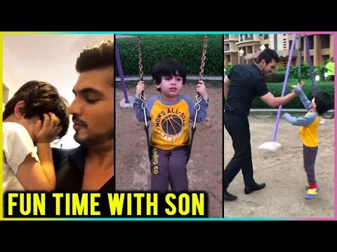 Arjun Bijlani FUN TIME With His Son Ayaan | TellyMasala