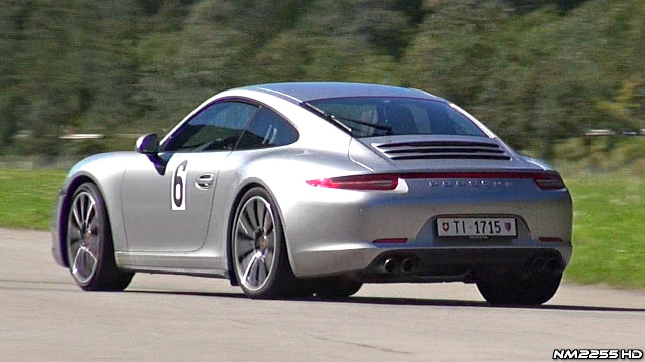 porsche 991 carrera 4s with pse exhaust lovely sound youtube