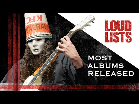 10 Rock + Metal Acts That Have Made a Ridiculous Number of Albums