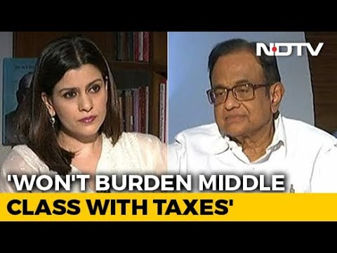 P Chidambaram On How Congress Plans To Fund NYAY Income Guarantee Scheme