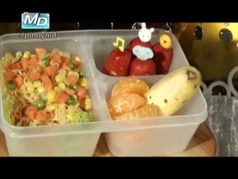 Bento Recipes From Pinoy MD