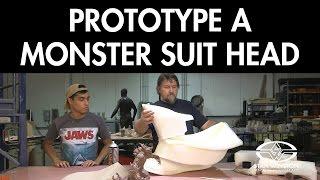 Prototype a Monster Suit Head: Kaiju Foam Fabrication - FREE CHAPTER