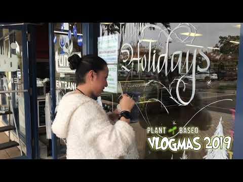 PLANT BASED VLOGMAS - DAY 7 #vlogmas #veganrobs #veganvlogmas #plantbasedvlogmas #VMAS #VMAS2019