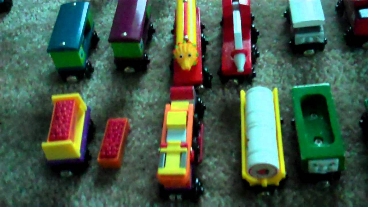 My Thomas Wooden Railway Collection Youtube