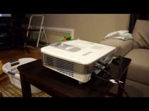 BenQ W1070 fan noise + lots of light
